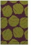 rug #802464 |  green circles rug