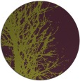 rug #802488 | round purple natural rug