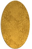 rug #806240 | oval light-orange natural rug