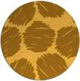 rug #806273 | round light-orange retro rug