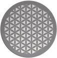 rug #806916 | round traditional rug