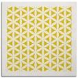 rug #806921 | square yellow rug