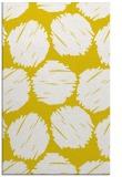 rug #806954    yellow circles rug