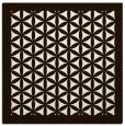 rug #807606 | square brown borders rug