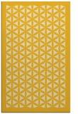 rug #808964 |  yellow traditional rug