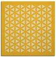 rug #808976   square yellow geometry rug