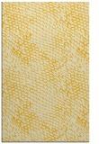 rug #808984 |  yellow animal rug