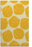 rug #809009 |  yellow circles rug