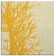 rug #809041 | square yellow natural rug