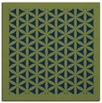 rug #810181 | square green traditional rug