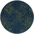 rug #810193 | round blue natural rug