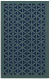 rug #810854 |  blue borders rug