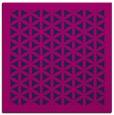 rug #811551 | square pink borders rug