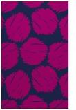 rug #811584 |  pink retro rug