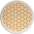 rug #812913 | round light-orange borders rug