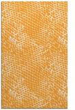rug #812929    light-orange animal rug