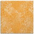 rug #812941 | square light-orange animal rug