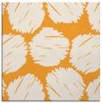 rug #812966 | square light-orange circles rug