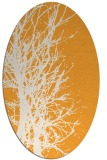 rug #812970 | oval light-orange natural rug