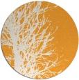 rug #812978 | round light-orange natural rug