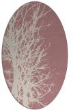 rug #814340   oval natural rug