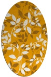 rug #814900 | oval light-orange natural rug