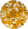 rug #814908 | round light-orange natural rug