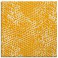 rug #814996 | square light-orange animal rug