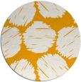 rug #815013 | round light-orange circles rug