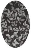 rug #815585 | oval red-orange natural rug