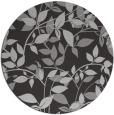 rug #815593 | round red-orange natural rug