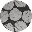 rug #815698 | round red-orange graphic rug
