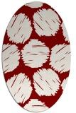 rug #817062 | oval circles rug