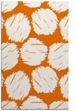 rug #817064 |  orange circles rug