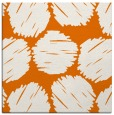 rug #817076 | square orange graphic rug