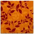 rug #817656 | square red-orange natural rug