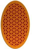 rug #817703 | oval borders rug