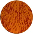 rug #817728 | round orange natural rug