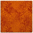 rug #817736 | square orange animal rug