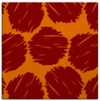 rug #817761 | square red-orange circles rug
