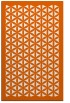 rug #818389 |  red-orange traditional rug