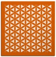 rug #818401 | square red-orange traditional rug