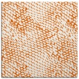 rug #818421 | square red-orange animal rug