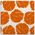 rug #818446 | square red-orange circles rug