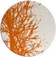 rug #818458 | round red-orange popular rug