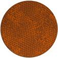 rug #819098   round red-orange rug