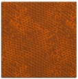 rug #819106 | square red-orange natural rug