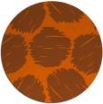 rug #819124 | round retro rug