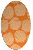 rug #819802 | oval graphic rug