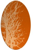 rug #819820 | oval red-orange popular rug
